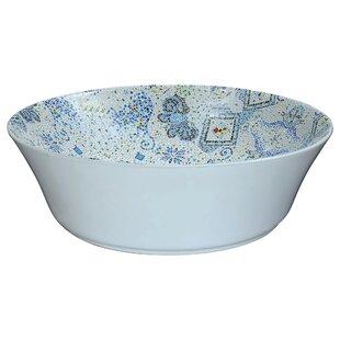 ANZZI Byzantian Vitreous China Circular Vessel Bathroom Sink