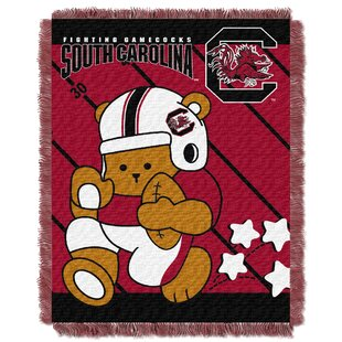 Compare Collegiate South Carolina Baby Throw By Northwest Co.