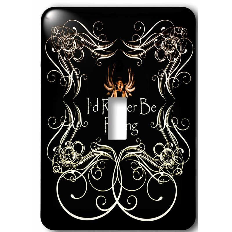 3drose Design For People Who Ride Motorcycles 1 Gang Toggle Light Switch Wall Plate Wayfair