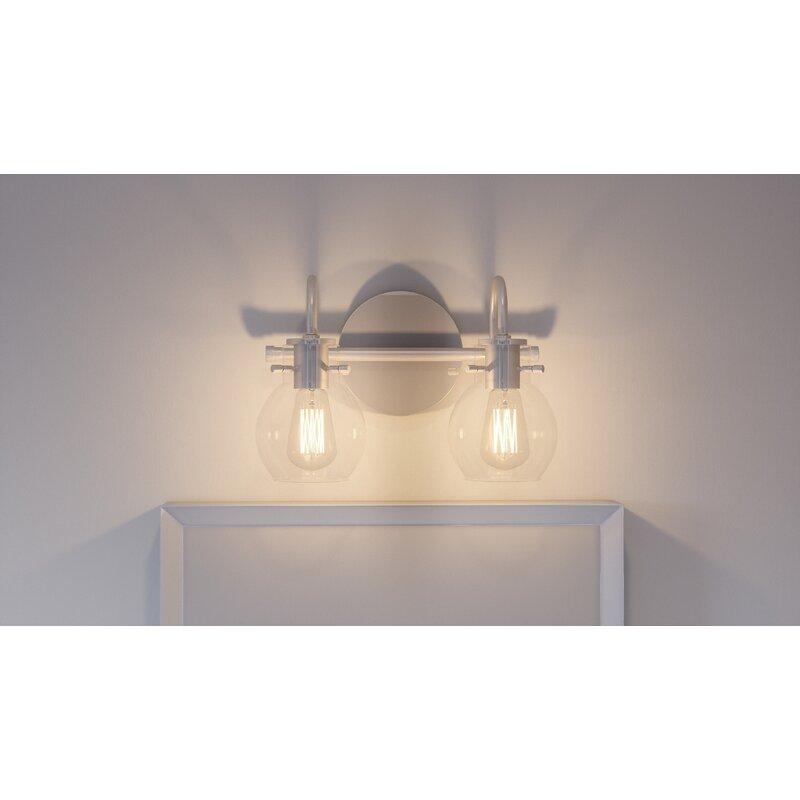 Trent Austin Design Halleck 2 Light Vanity Light Wayfair