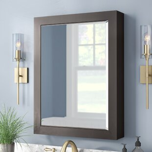 Searching for Poyen 28 Rectangle Beveled Wall Mirror ByCharlton Home