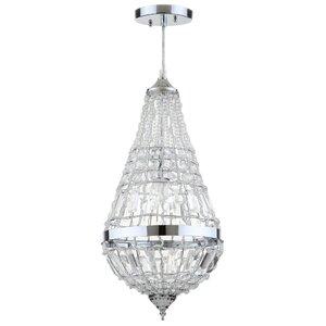 Beaminster Byrd 1-Light Crystal Pendant
