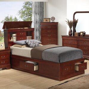 corbeil platform bed - Cherry Bed Frame