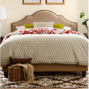 Three Posts Galesburg Queen Upholstered Panel Bed