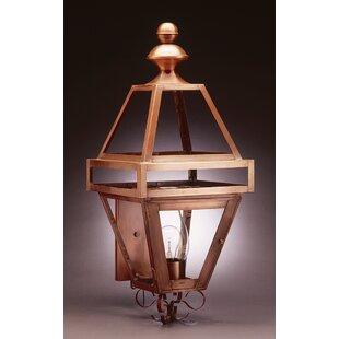 Boston 3-Light Outdoor Sconce By Northeast Lantern Outdoor Lighting