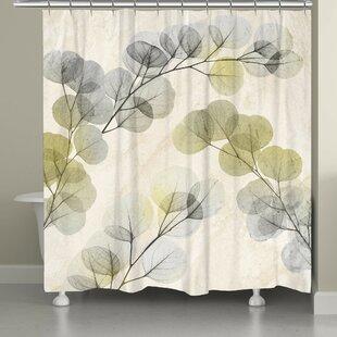 Big Save Canisteo X-Ray of Eucalyptus Leaves Shower Curtain ByLatitude Run