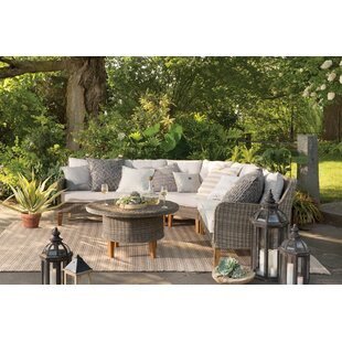 Ferne 4 Piece Sectional Set with Cushions
