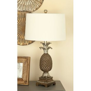 Polystone Pineapple 28 Table Lamp (Set of 2)