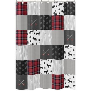 Rustic Patch Shower Curtain