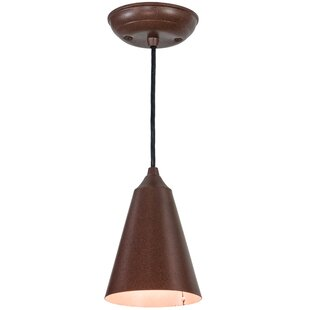 Meyda Tiffany Cone 1-Light Mini Pendant