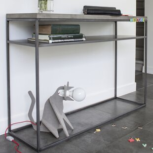 Lyon Beton Perspective Console with Shelf