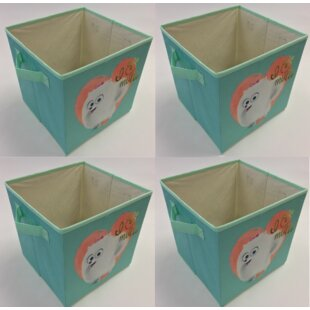 Collapsible Mutts Storage Cube (Set of 4) By Linen Depot Direct