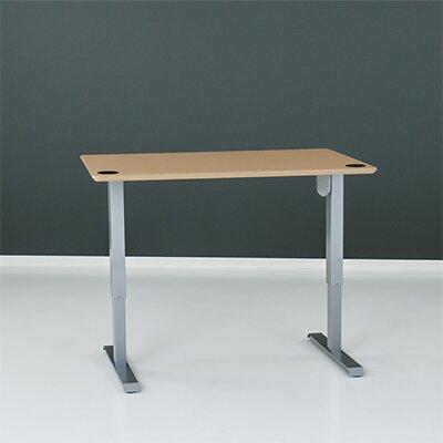 Wiersma Height-Adjustable Standing Desk Latitude Run Color: Silver