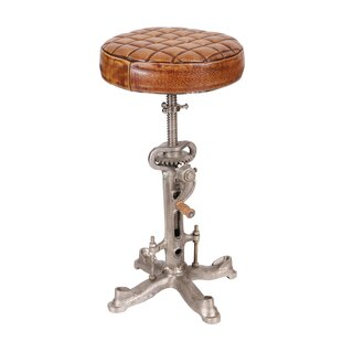 Review Anjali Iron Wind-Up Height Adjustable Swivel Bar Stool