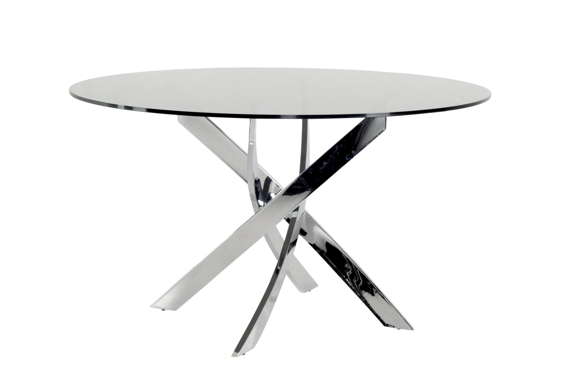Orren Ellis Camron Modern Tempered Glass Top Dining Table Reviews