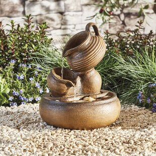 Tokarz Polystone Fountain By Sol 72 Outdoor