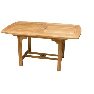 Alena Extendable Teak Dining Table