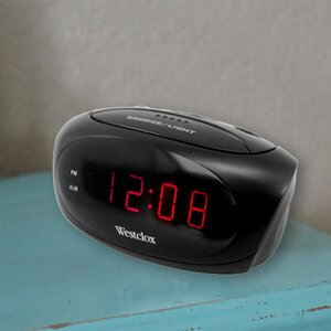 Electric LED Alarm Clock
