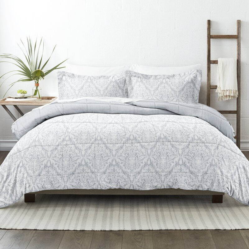 Ophelia & Co. Leatherwood Reversible Comforter Set