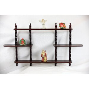 3 Tier Wall Shelf