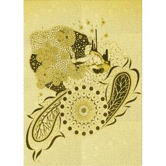 Ebern Designs Dewald Abstract Handmade Tufted Wool Black Yellow Area Rug Reviews Wayfair