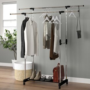 92-150cm Wide Clothes Storage System By Wayfair Basics