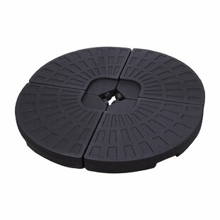 4 Piece Plastic Umbrella Base Set