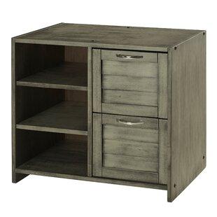 Felecia 2 Drawer Combo Dresser