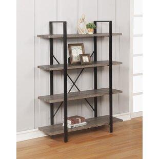 Olivieri 4 Tier Etagere Bookcase By Gracie Oaks