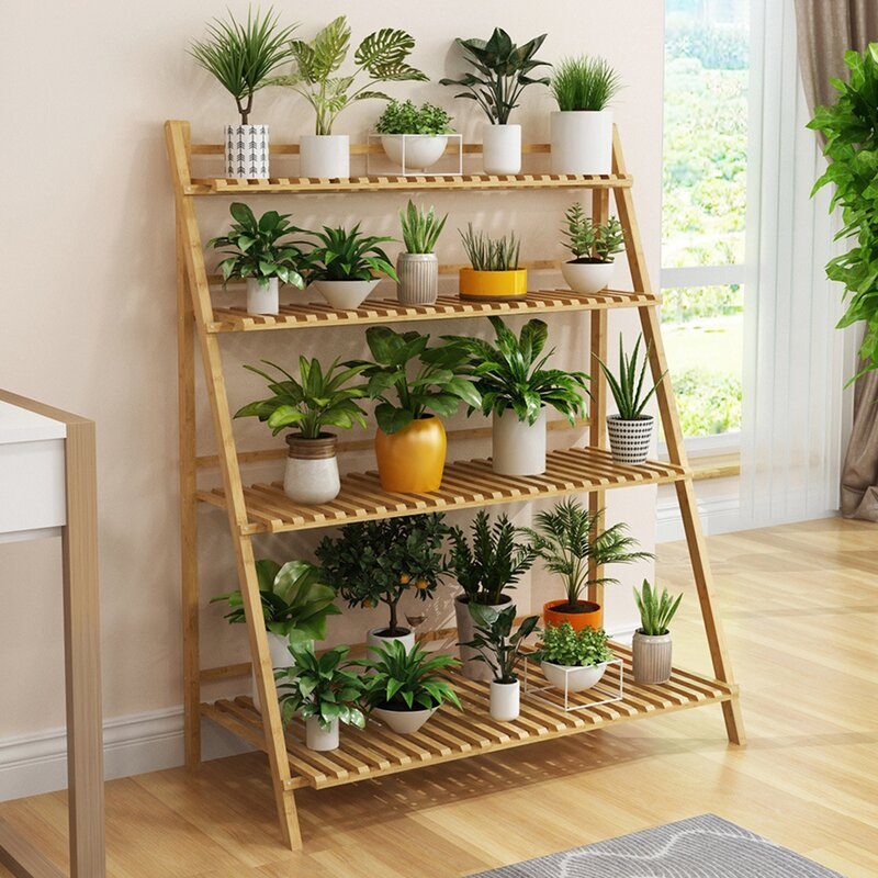 Arlmont Co Elmirasol Free Form Multi Tiered Plant Stand Wayfair