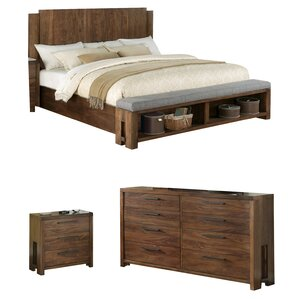 walnut bedroom set. Colton Platform Configurable Bedroom Set Walnut Sets You ll Love  Wayfair