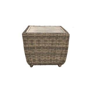 Desalvo Wicker Side Table