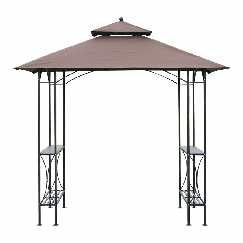 Outsunny BBQ Tent Canopy Patio Outdoor 2.5 x 1.5m Awning  sc 1 st  Wayfair & Outsunny Outsunny BBQ Tent Canopy Patio Outdoor 2.5 x 1.5m Awning ...