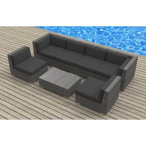 Mason 7 Piece Deep Seating Group with Cushions