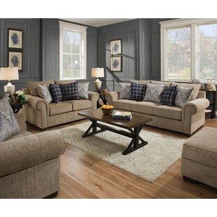 Alcott Hill Della Configurable Living Room Set