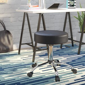 Soundview Adjustable Stool with Dual Wheel