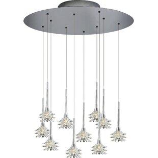 Oggetti Mimosa 10-Light Cluster Pendant