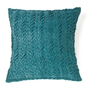 Allie 100% Cotton Velvet Throw Pillow
