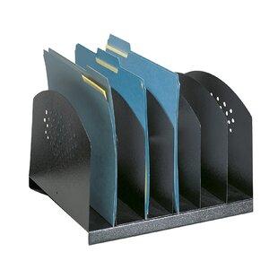 6 Section Steel Desk Organiser By Symple Stuff