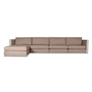 Orren Ellis Steffi Plush Deep Modular Sectional with Ottoman