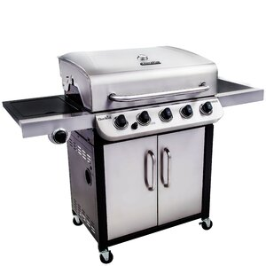 Performance 5-Burner Propane Gas Grill with Cabinet
