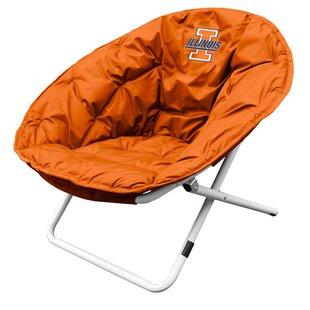 Logo Brands Collegiate Papasan Chair
