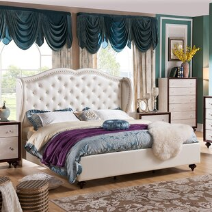 Shop For Marthasville Upholstered Platform Bed by House of Hampton Reviews (2019) & Buyer's Guide