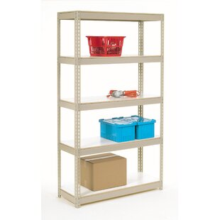 Melamine Laminate Rivet Lock 5 Shelf Shelving Unit