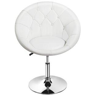 Gabor Swivel Barrel Chair by Orren Ellis