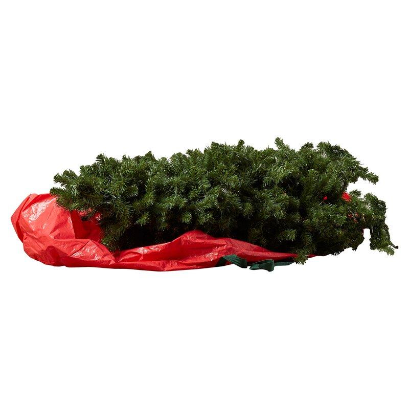 Christmas Ornaments Tree Wrapping Paper Storage Bag Box Xmas Tidy Organiser Sack