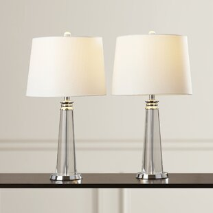Reviews Lake Park 24.5 Table Lamp (Set of 2) By House of Hampton
