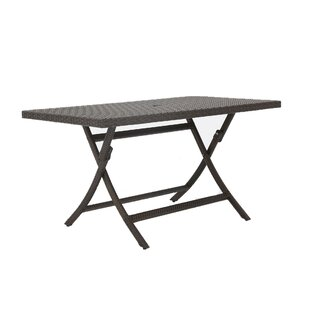 Kalb Extendable Wicker/Rattan Dining Table by Winston Porter