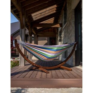 Christchurch Double Tree Hammock with Stand by Freeport Park