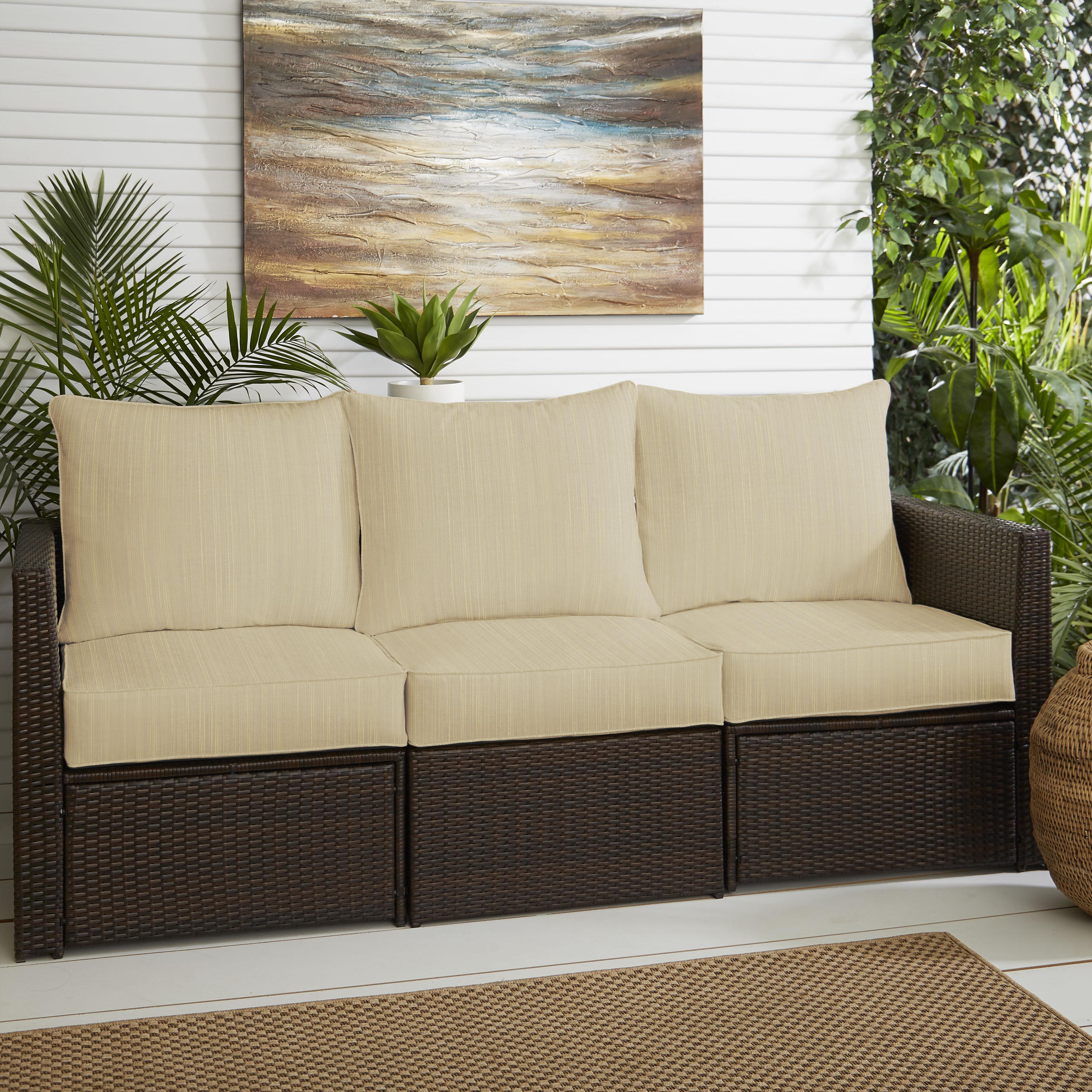 Indoor Outdoor Sofa Cushion Reviews Birch Lane